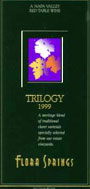 Flora Springs Winery & Vineyards' 1999 Trilogy