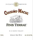 Cousiño-Macul 2004 Finis Terrae Red Blend