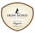 Iron Horse T-bar-T Viognier