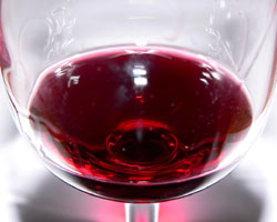 A glass of red wine tastes better in red lighting rather than white, according to a recent study