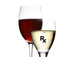 A white wine can now be made to contain the same health benefits of a red