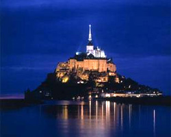 Mont Saint-Michel, where Champagne producer Louis Roederer is testing underwater cellaring