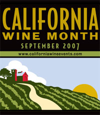 September 2007 Declared California Wine Month