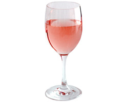 A glass of Rosé