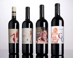 Four releases of the Playboy wines