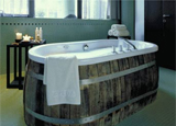 A tub at the Wine & Spa Resort Loisium Hotel, one of our Top 10 Wine Spas Worldwide