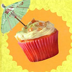 Learn how to make Piña Colada Cupcakes and other Tipsy Treats