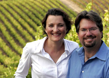 Anne and Michael Dashe, the owners and winemakers of Dashe Cellars