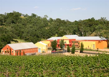 Justin Vineyards & Winery's Isosceles Center