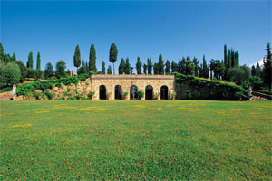 The Castello di Monsanto Estates also offers guided tours and wine tastings
