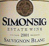 Simonsig Winery in South Africa