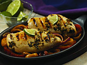 Grilled chicken made with Margarita Marinade