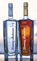 Tommy Bahama Rum, made from Blackstrap molasses
