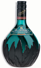 Agavero Tequila Liqueur blends 100 percent blue agave anejo and reposado tequilas