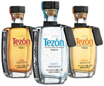 Tequila Tezon comes in the usual three varieties: Blanco, Reposado and Anejo