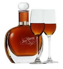 A bottle of Jose Cuervo 250 Aniversario Tequila