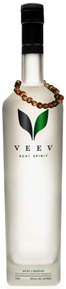 A bottle of VeeV Acai Spirit