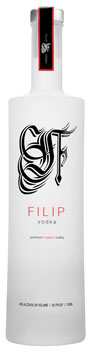 Filip Vodka is 100-percent certified organic