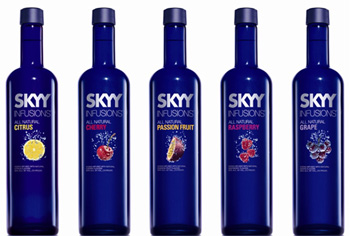 The five SKYY Infusions