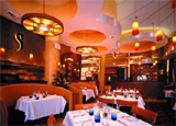 The dining room at Las Vegas' Spiedini, a restaurant offering wine tastings and dinners