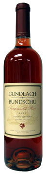 Gundlach-Bundschu 2007 Estate Vineyard Tempranillo Rosé