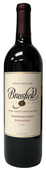Brassfield Estate Winery 2005 Round Mountain Vineyard Zinfandel