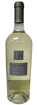 Ehlers Estate 2008 Sauvignon Blanc, our Wine of the Week review