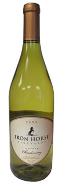 Iron Horse Vineyards 2008 Estate Chardonnay, our Wine of the Week review