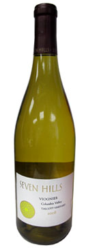 Seven Hills Winery 2008 Viognier, our Wine of the Week review