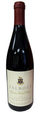 Talbott Vineyards 2008 Cuvee Sarah Case Pinot Noir, our Wine of the Week review