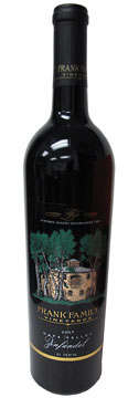 Frank Family Vineyards 2007 Napa Valley Zinfandel wine review