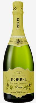 Korbel Organic Brut sparkling wine