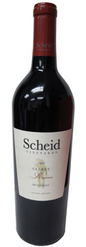 Scheid Vineyards 2005 Claret Reserve Wine Review
