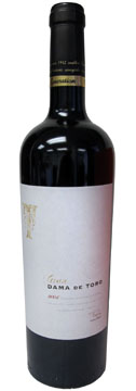 A bottle of Bodegas Farina 2004 Gran Dama de Toro, our Wine of the Week review