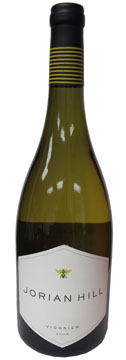 A bottle of Jorian Hill 2008 Viognier, our Wine of the Week review