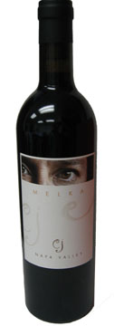 A bottle of Melka 2008 CJ Cabernet Sauvignon, our Wine of the Week review