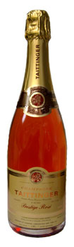 Bottle of Taittinger Cuvée Prestige Rosé