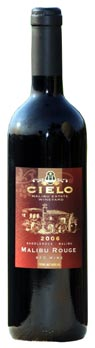 Cielo Malibu Estate Wineyards' 2006 Malibu Rouge
