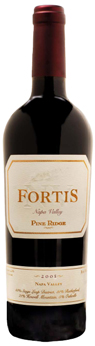 Pine Ridge Vineyards' 2005 Fortis