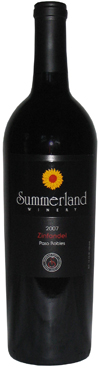 Summerland Winery's 2007 Paso Robles Zinfandel