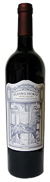 Bottle of 2004 Flying Horse Cabernet Sauvignon Wine