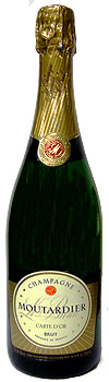 Champagne Moutardier Carte d'Or Brut NV